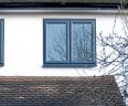 PVCu grey windows