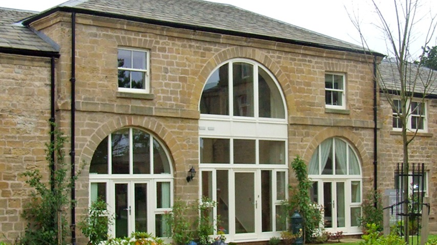 Timber Frame French Doors