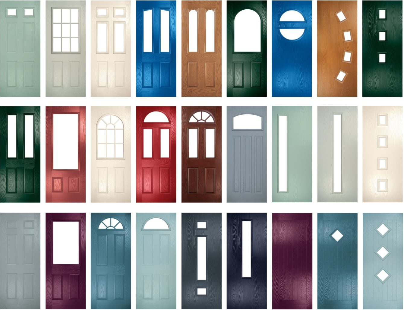 Duo Composite Entrance Doors Window Wise Sussex